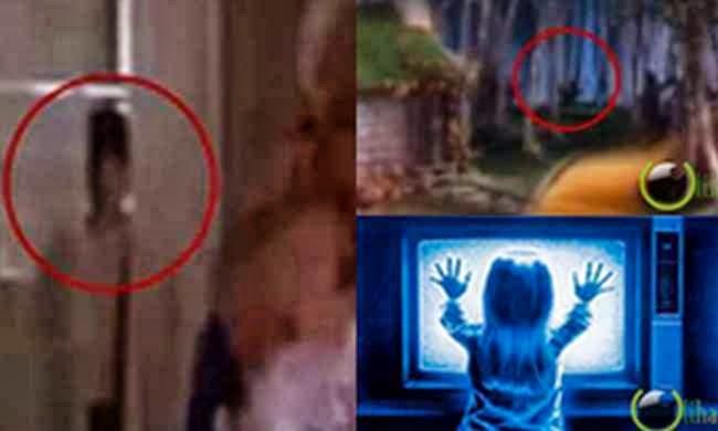 5 Penampakan Hantu Nyata di dalam Film