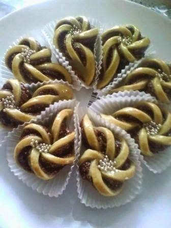 جديد الحلويات المغربية : الحلوة لمشرطة بالتمر