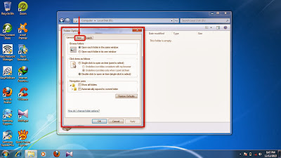 How to show hidden folder and files in windows 7 step9