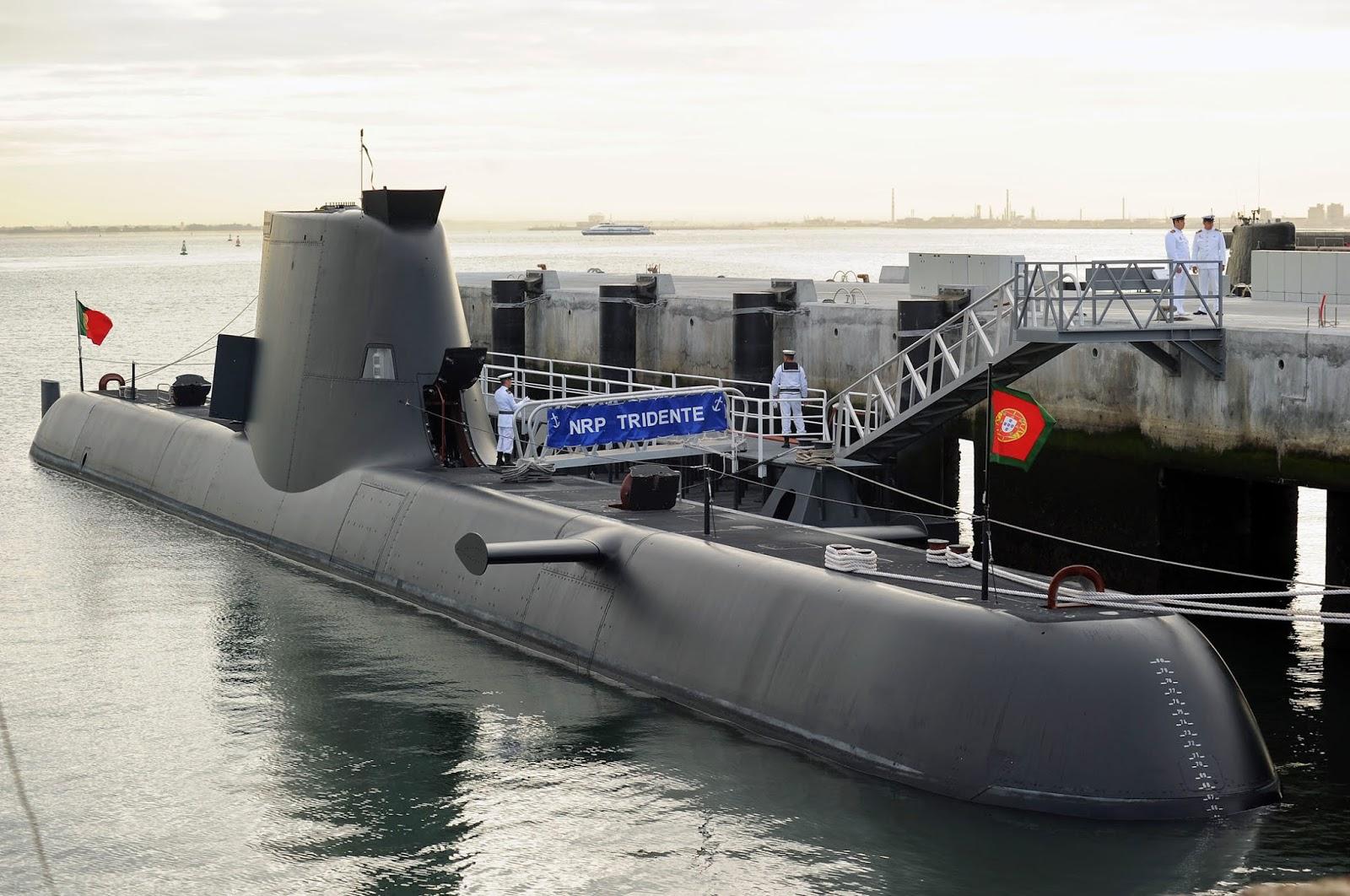Submarine type 214 Angkatan Laut Portugal