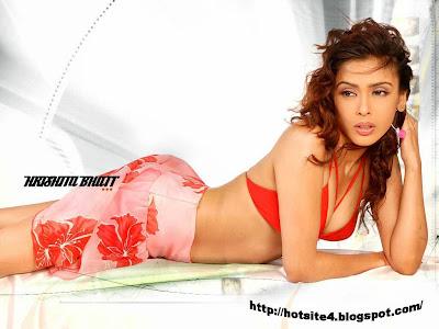 Download Bollywood Actress Hrishita Bhatt Bold And Sexy Photoshoot 2014 Wallpaper