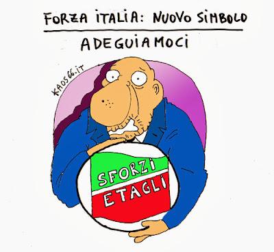 vignetta: FI nuovo simbolo
