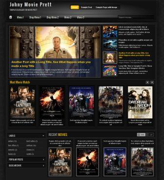 blogger template movie