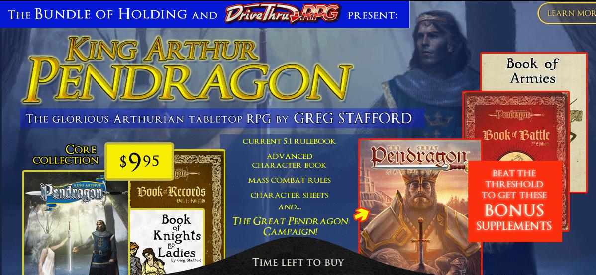 the great pendragon campaign pdf free