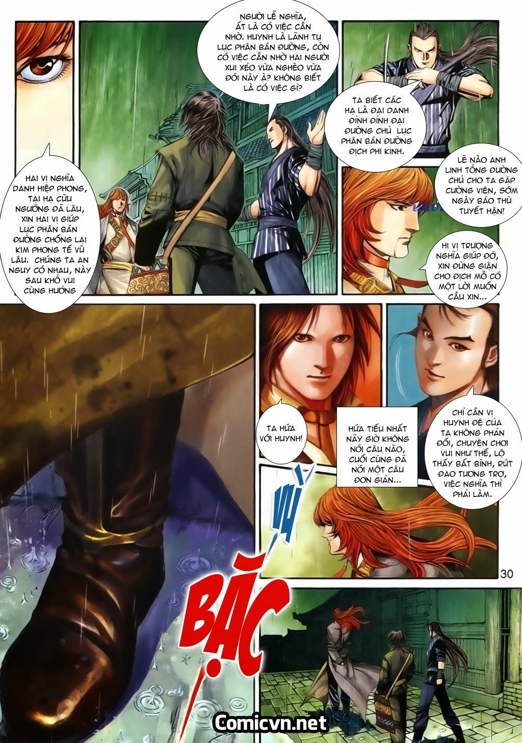 Thuyết Anh Hùng Thùy Thị Anh Hùng chap 16 Trang 31 - Mangak.info