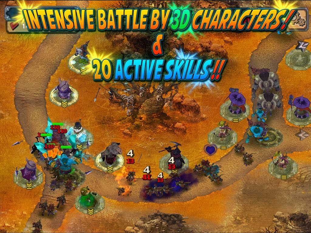 Quest Defense Tower Defense unlimited Golds