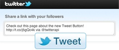 Cara Membuat Twitter Button