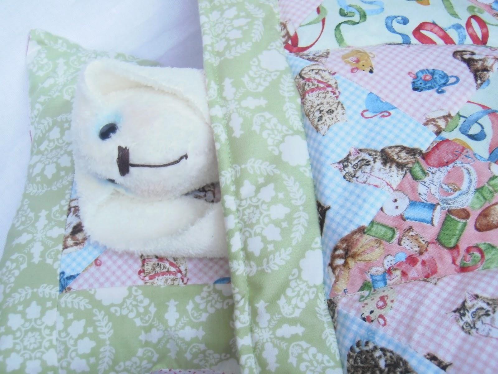 Как сшить куклам подушку 80