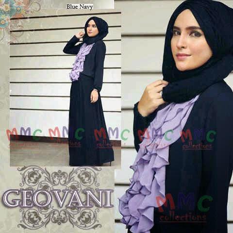 Flashop Grosir Baju Muslim Murah Hijab Set Geovani Maxi