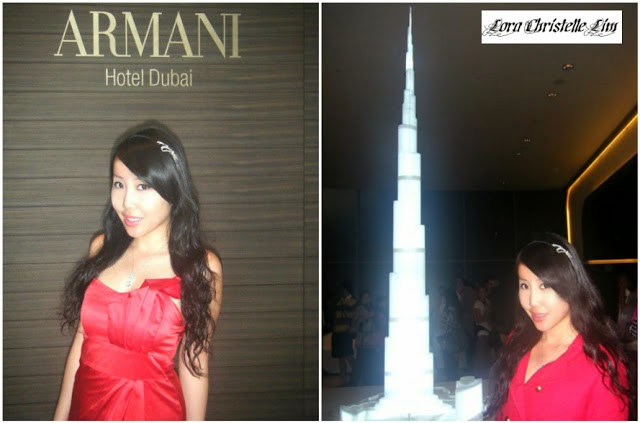 DUBAI - The World's Tallest Building - Burj Khalifa - ARMANI HOTEL