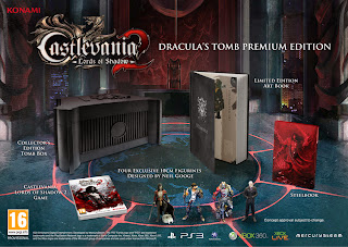 castlevania lords of shadow 2 draculas tomb premium edition image Castlevania: Lords of Shadow 2 (360/PC/PS3)   Draculas Tomb Edition Image & Details + Pre Order Bonus