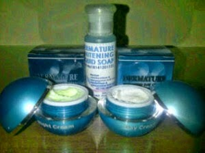 DERMATURE WHITENING SKINCARE - CREAM DERMATURE WHITENING