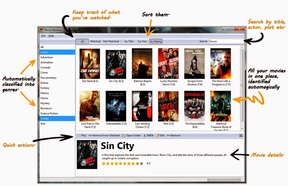 Software Perpustakaan/Katalog Video/Film Gratis
