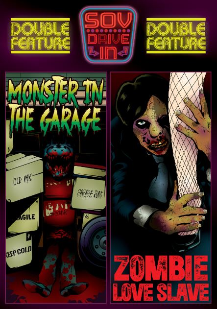 Monster In The Garage / Zombie Love Slave DVD Available Now!!!