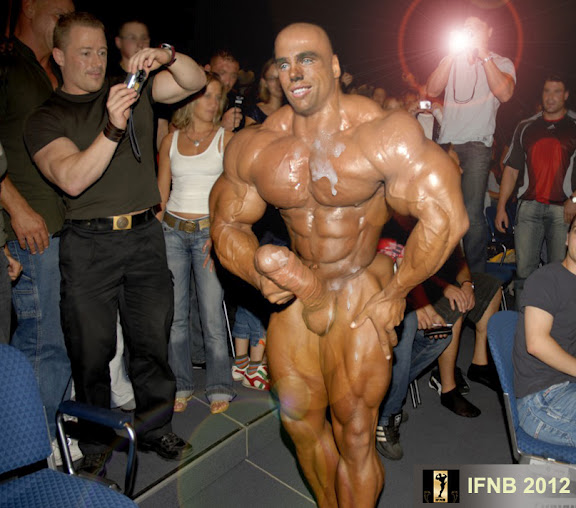 Erection In Bodybuilding Contest