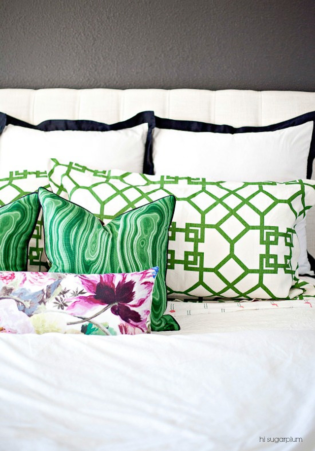 Throw Pillow Trends 2015 : 7 Hot Design Trends from the 2015 One Room Challenge Design Improvised