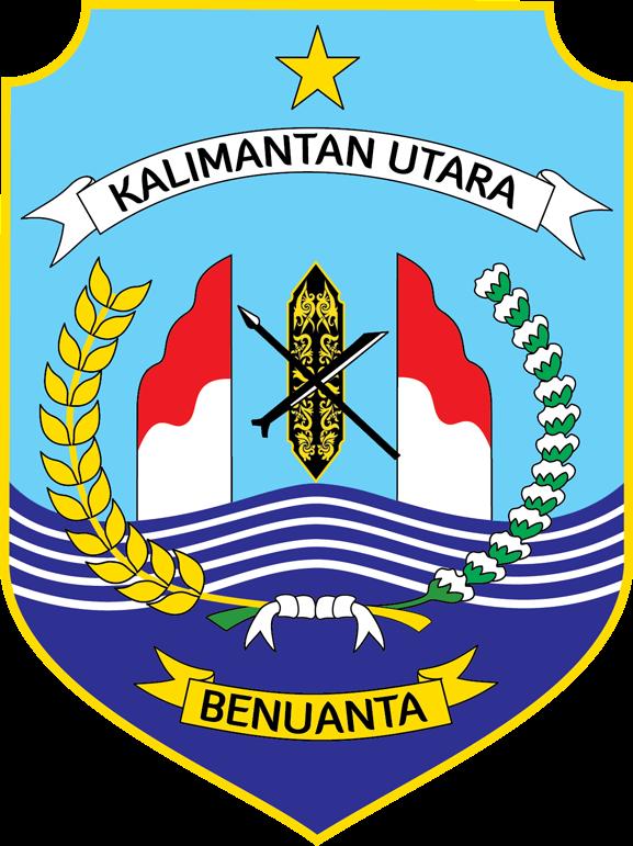 logo provinsi kalimantan utara logo lambang indonesia