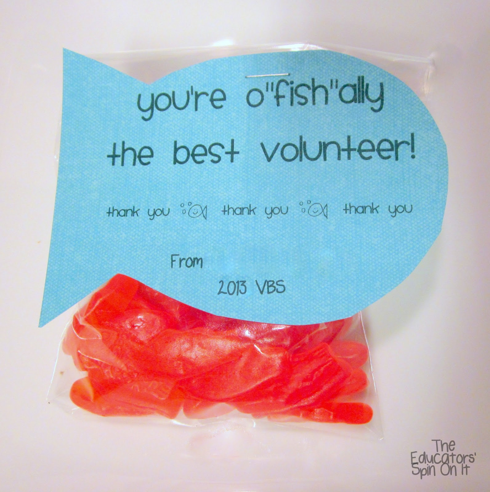 Gift Ideas For Vbs Volunteers - Gift Ftempo