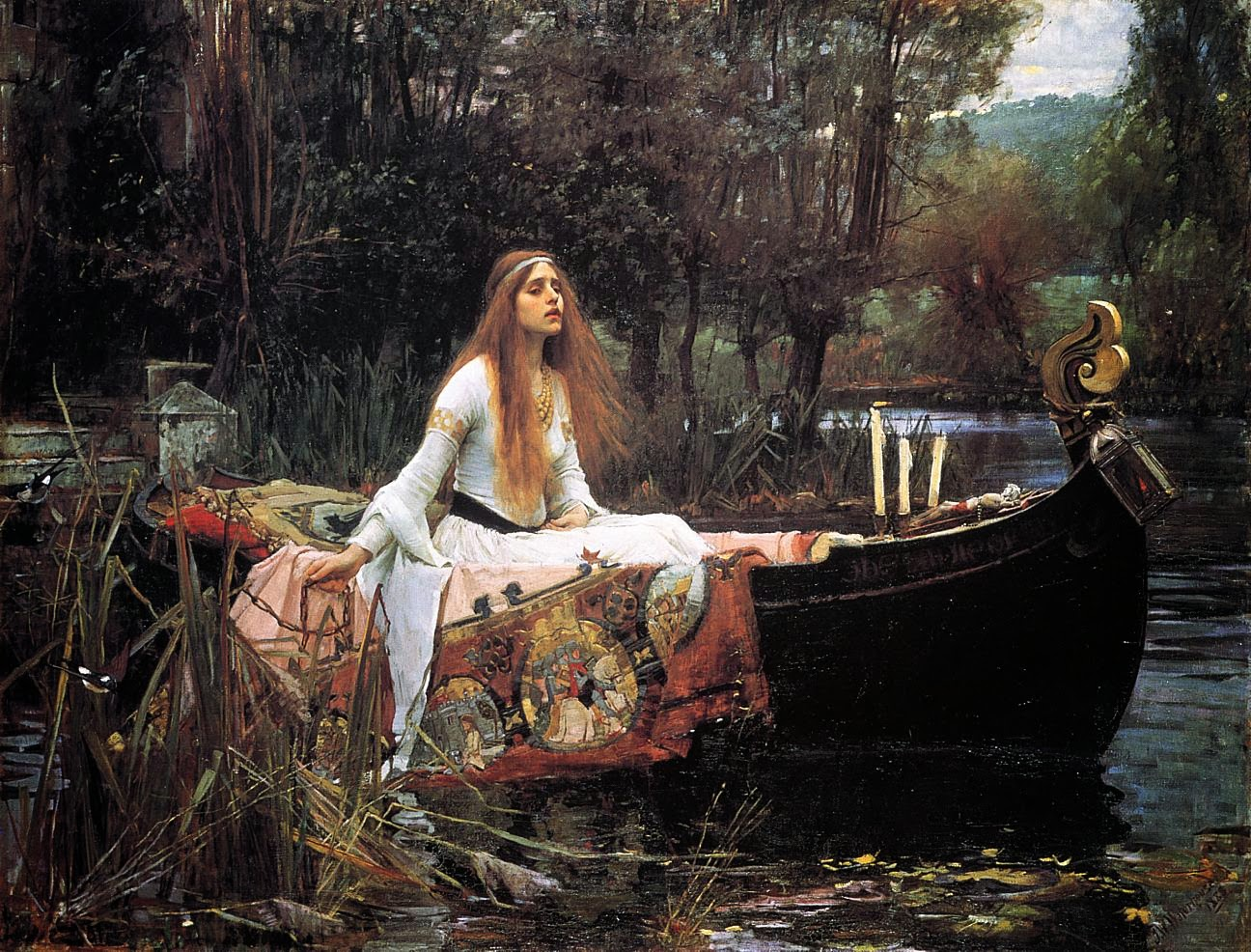 John William Waterhouse, The Lady of Shalott