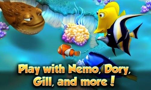 لعبة السمكه نيمو الشهيره للاندرويد - Nemo's Reef APK