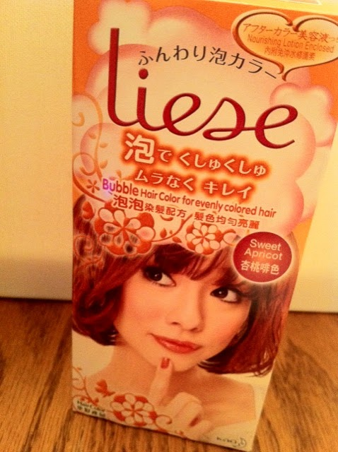 Dee S Escape Review Liese Bubble Hair Colour Sweet Apricot