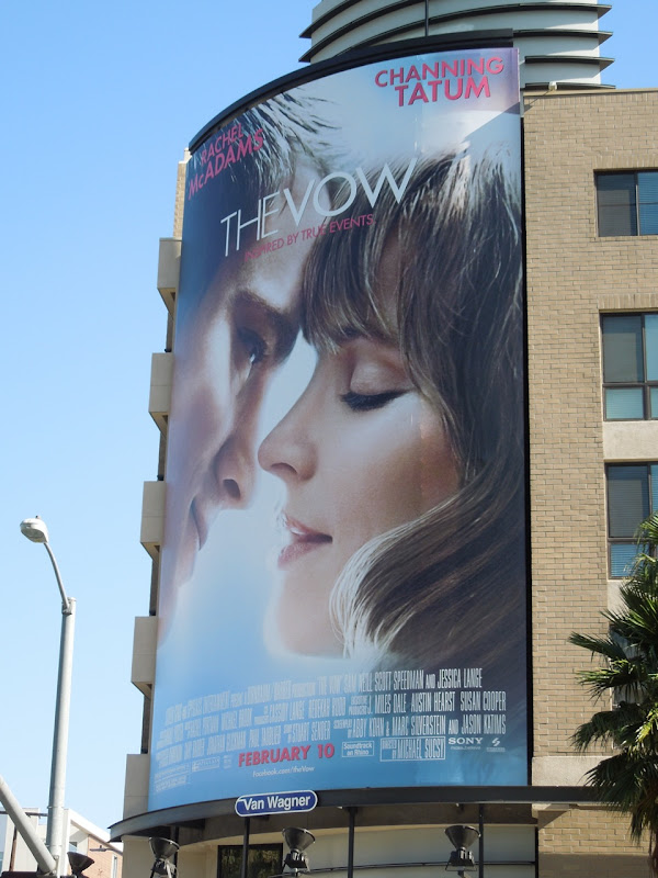 The Vow movie billboard