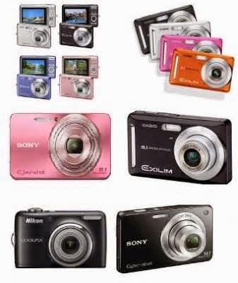 Spesifikasi Daftar Harga Camera Digital Lengkap Terbaru 2014