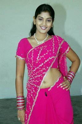karuna star mallu in pink saree album photo gallery