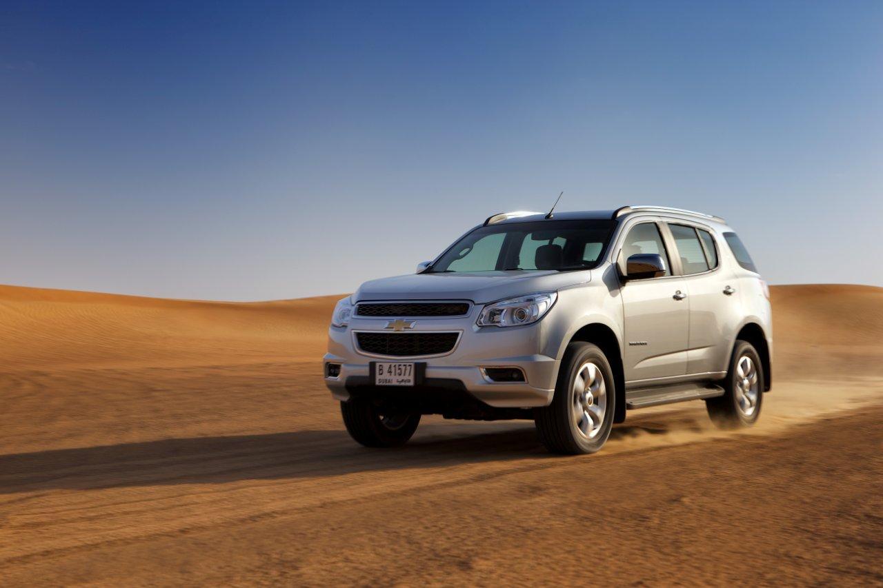 car i Chevrolet Trailblazer 2013