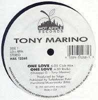 Tony Marino - One love - (Vinyl, 12'' 1991)(Futura International Records)