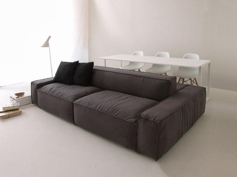 Innovativo sistema tavolo divano per open space nasce isolagiorno idea arredo - Tavolo per divano ...