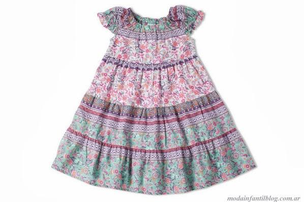 gabriela de bianchetti vestidos para nenas verano 2014