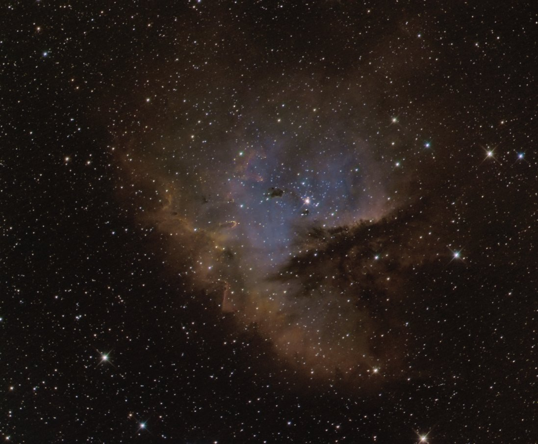 cave nebula narrow band - photo #35