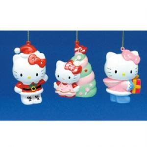 Hello Kitty Christmas santa hanging ornament Christmas tree decoration