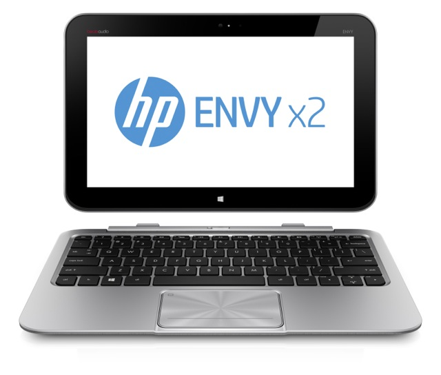 HP Envy X2 Hybrid Laptop Tablet Based Windows 8 Clover Trail Intel Atom Processor And 11.6 Inch Screen