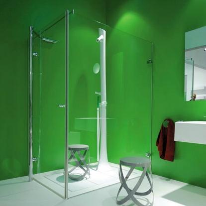 Best Bathroom Interior Designs Ideas Green Walls Shower