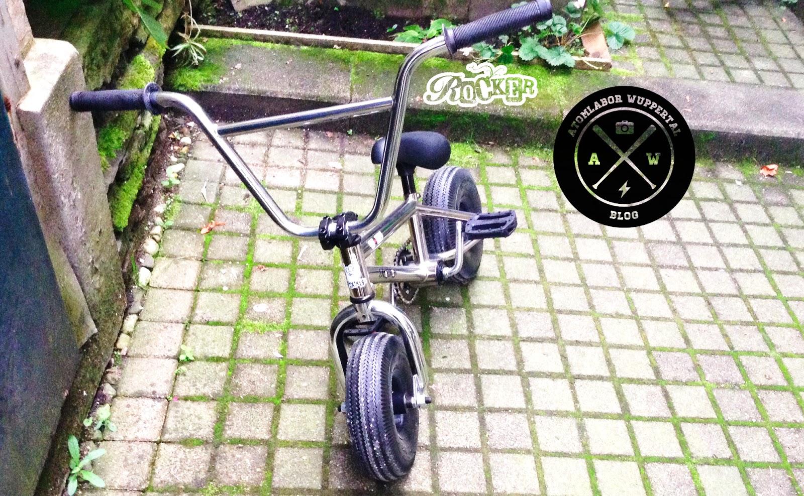 Für Sandkastenrocker und echte BMX-Künstler - Das Atomlabor testet das Rocker Mini BMX