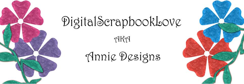 Digitalscrapbooklove aka Annie Designs