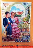 REVISTA FERIA SAN MIGUEL ARCOS INFORMACIÓN 1997