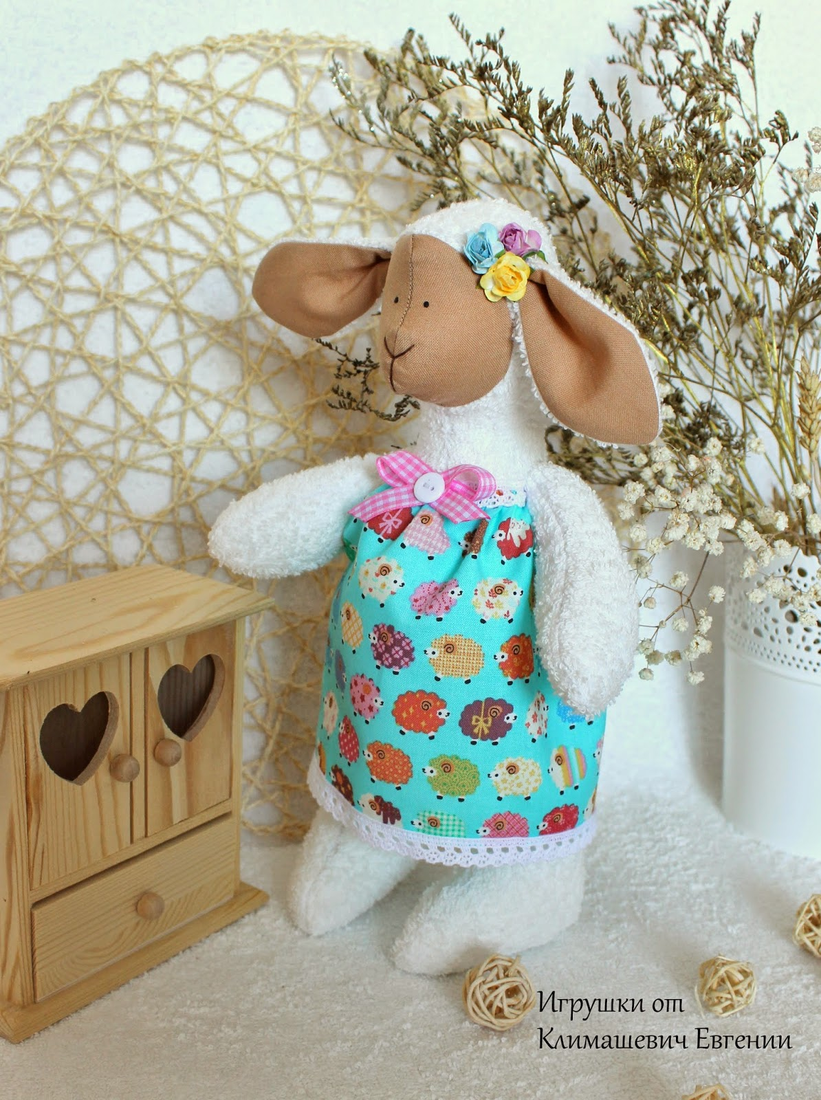 Овечка, тильда овечка, игрушка овечка, купить овечку