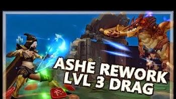 Ashe Mới Có Thể Solo Rồng Ngay Từ lvl 3