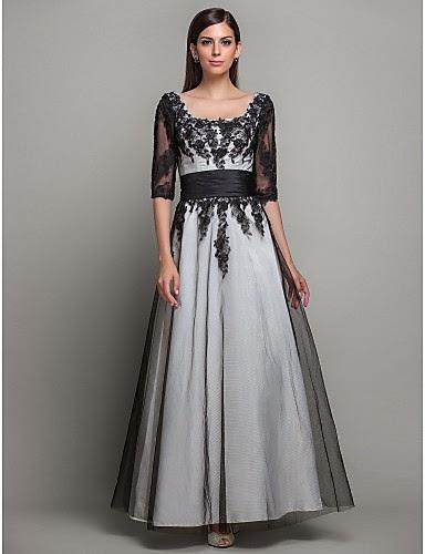Vestido largo princesa satén encaje color marfil
