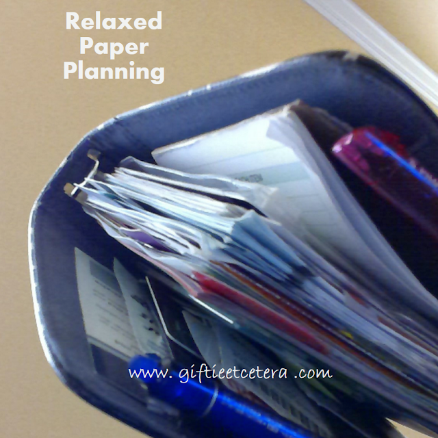 Paper, paper planning, planner