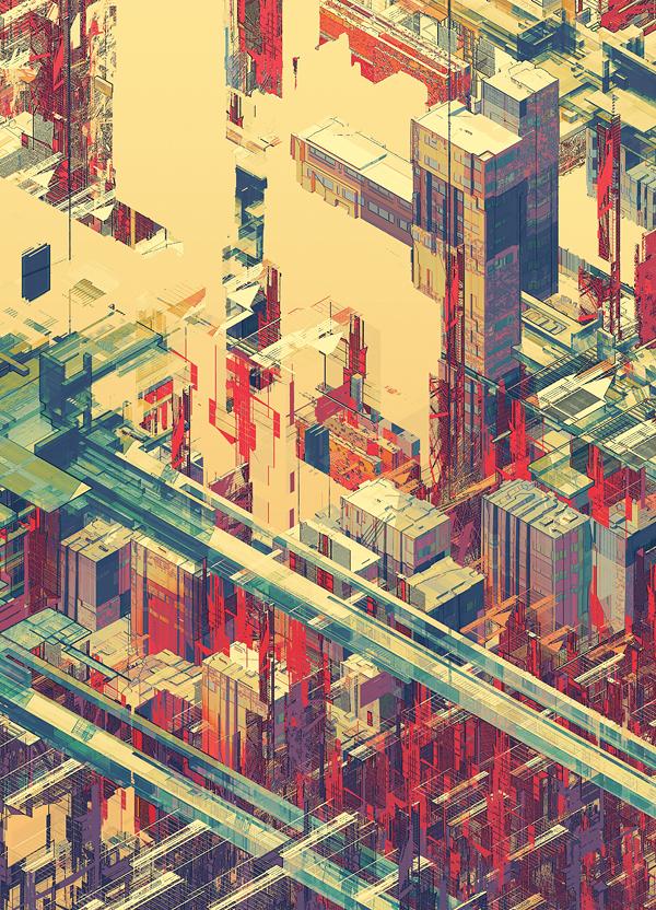 Doctor Ojiplático. Atelier Olschinsky. Cities II