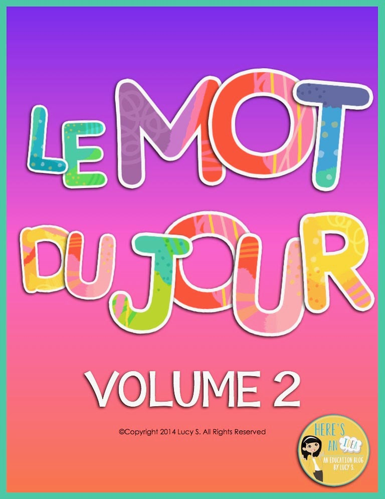 Here's an idea: French: Le Mot du Jour - Volume 2 and a giveaway!