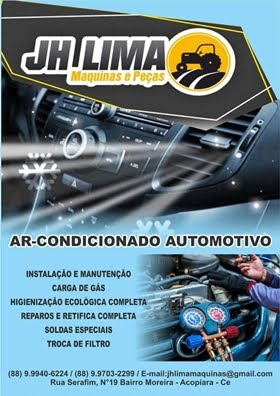 JH Lima Máquinas e Peças - Ar-condicionado automotivo