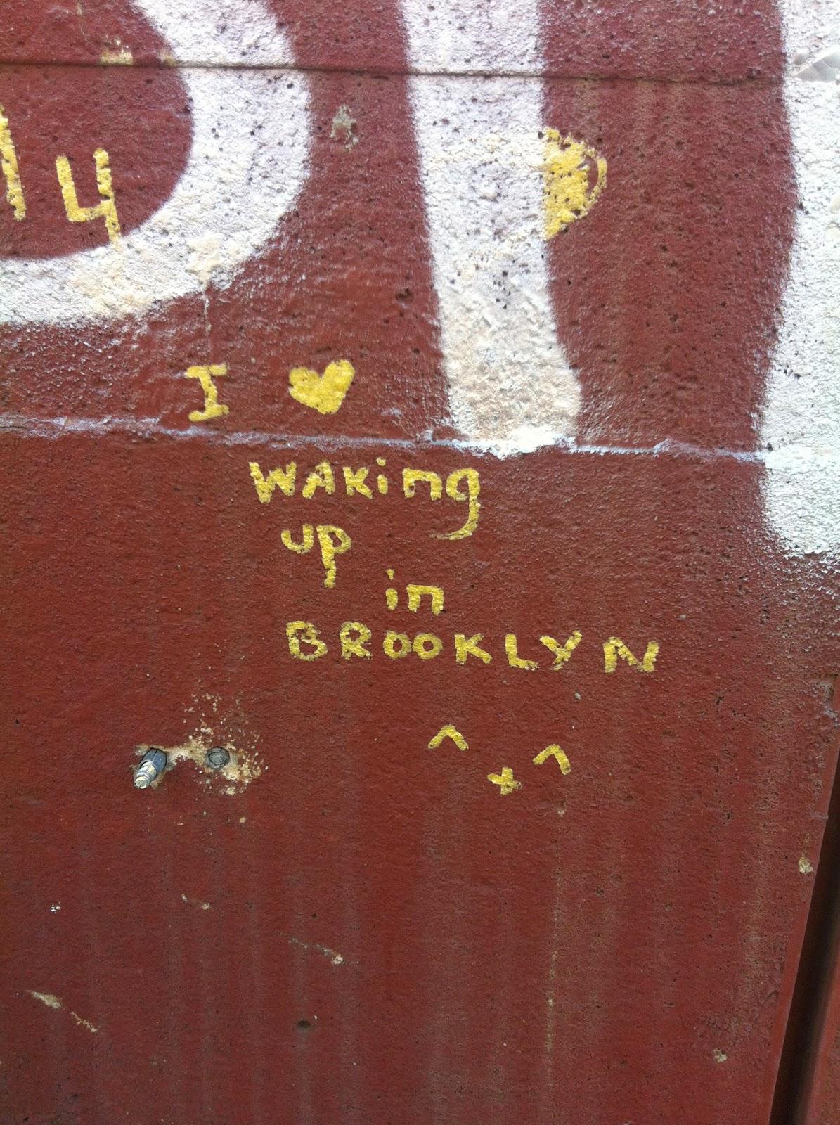 ブルックリンひとり旅 (4) グラフィティとか街の写真まとめ