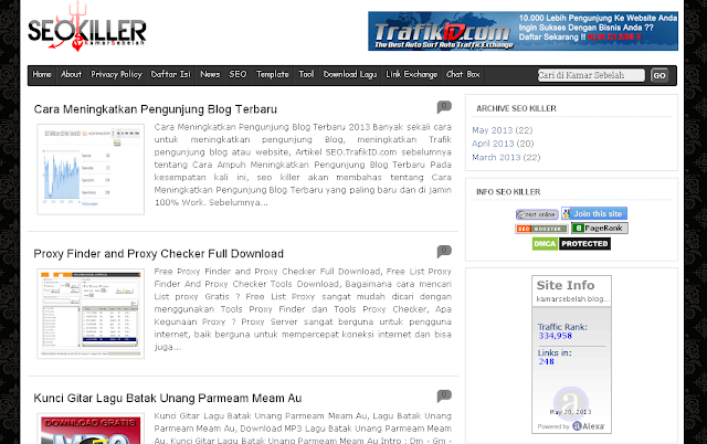 Template Blogspot SEO Friendly Terbaru, Template Blogger Terbaru, B-Seo Versi 2