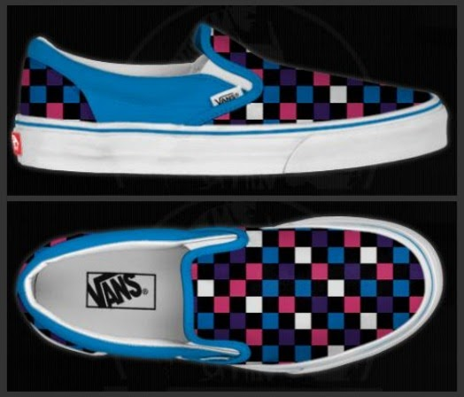 HAVING FUN WITH ENGLISH: DESIGN YOUR OWN VANS SHOES