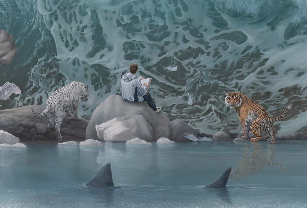 11-The-Promised-Land-detail-Joel-Rea-Paintings-of-People-and-Animals-in-Nature-www-designstack-co